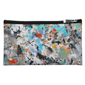 Abstract Splashes Makeup Bag