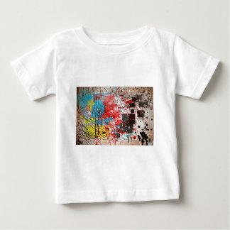 Abstract Splatter Paint Baby T-Shirt