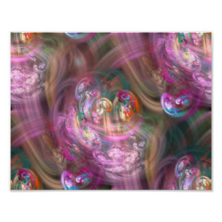 Abstract spring feelings poster