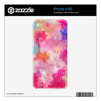 Abstract Spring Flower Field iPhone 4 Skin