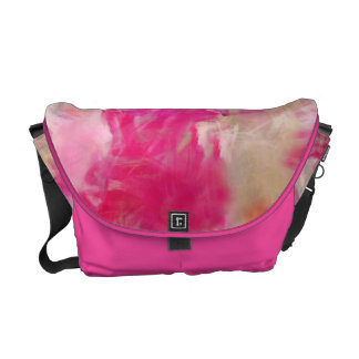 Abstract Spring Flower Field Messenger Bag