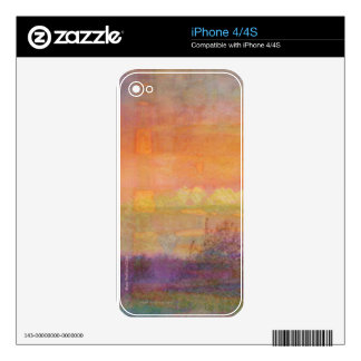 Abstract Spring Landscape iPhone 4 Skin