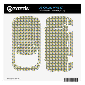 Abstract square and triangle pattern LG octane skin