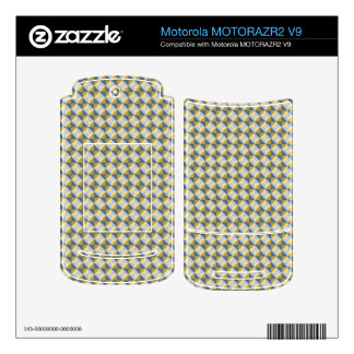 Abstract square and triangle pattern MOTORAZR2 v9 skins