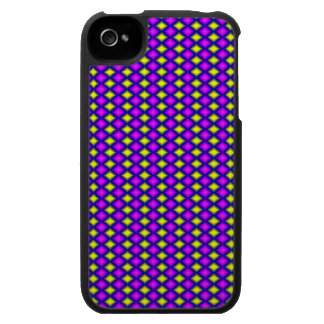 Abstract square colorful pattern iPhone 4 cases