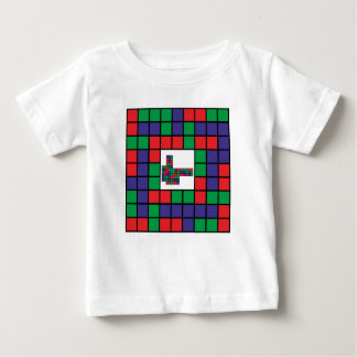 Abstract square design baby T-Shirt