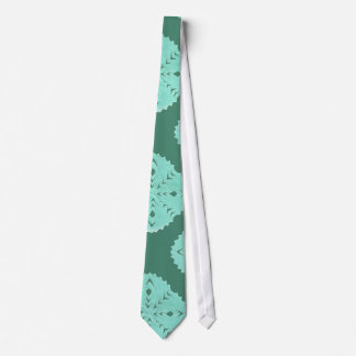 ABSTRACT SQUARE WYCINANKI NECK TIE
