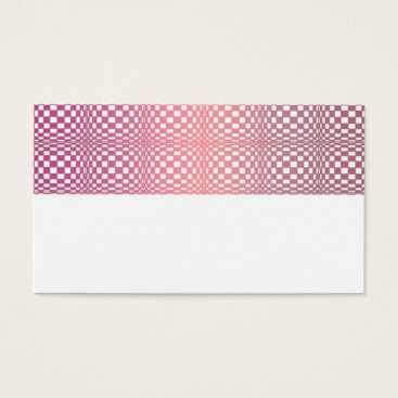 Professional Business Abstract Squares 9 Business Card