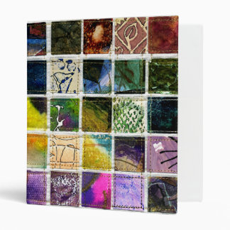 Abstract squares binder