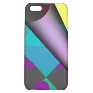 Abstract Squares & Dots iPhone 5C Case