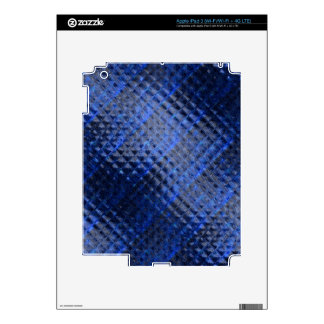 Abstract Squares Pattern iPad 3 Decals