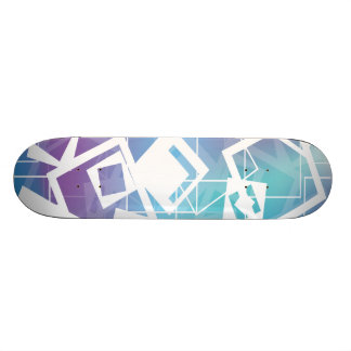 Abstract Squares Skate Decks
