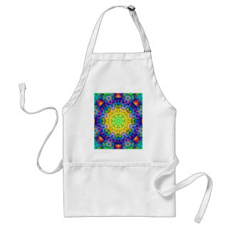 Abstract Squiggle Adult Apron