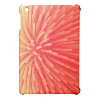 Abstract Squishy Ball Toy Red Orange Glow iPad Mini Covers