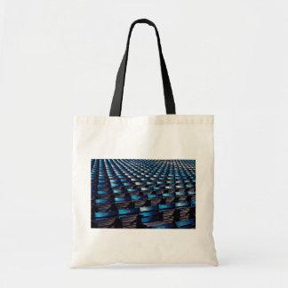 Abstract Stadium seats Tote Bag