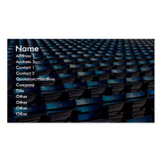 Abstract Stadium seats Business Card