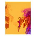 Abstract Stain Custom Letterhead