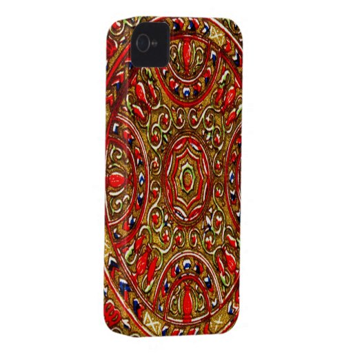 Abstract stain glass Blackberry Bold 9700/9 Case-Mate iPhone 4 Case