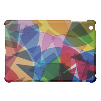 Abstract Stained Glass iPad Case