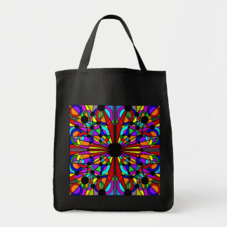 Abstract Stained Glass Tote2 Tote Bag