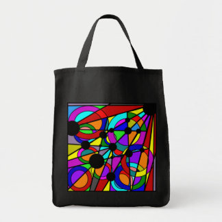 Abstract Stained Glass Tote Tote Bag