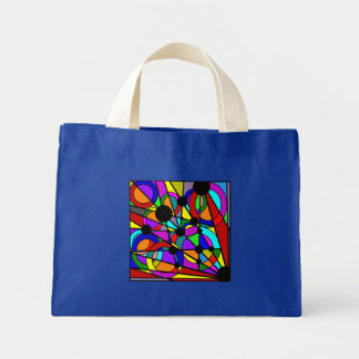 Abstract Stained Glass Tote Bag