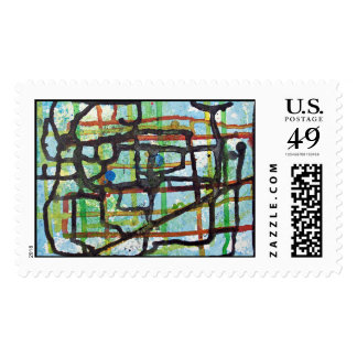 Abstract stamp