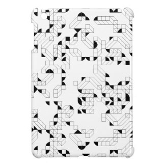 Abstract Stamp iPad Mini Covers