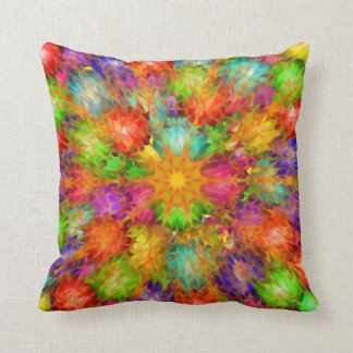 Abstract Star Design Throw Pillow