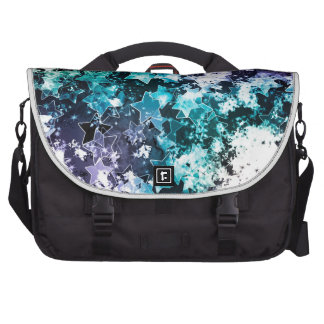 Abstract Star Dust Laptop Commuter Bag