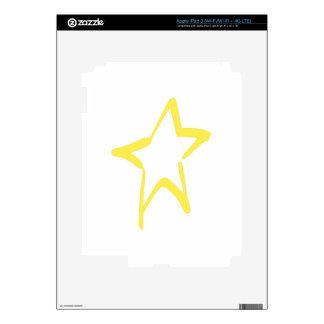 Abstract Star iPad 3 Decal