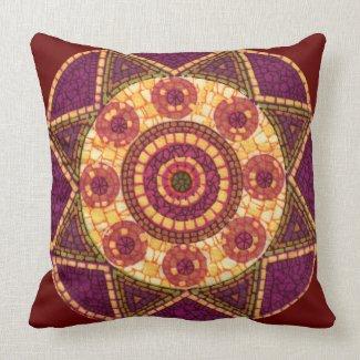 Abstract Star Mosaic Pillows