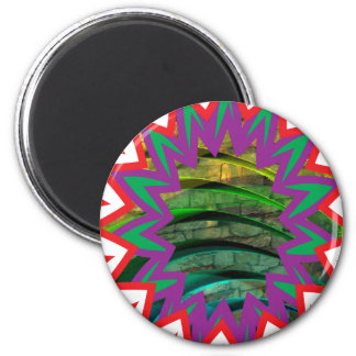Abstract star sparkle graphic shirts 100 gifts 2 inch round magnet