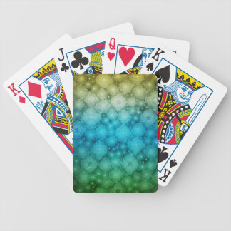 Abstract Star System Bicycle Poker Deck