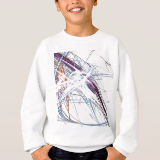 abstract starburst light formation design fractal sweatshirt