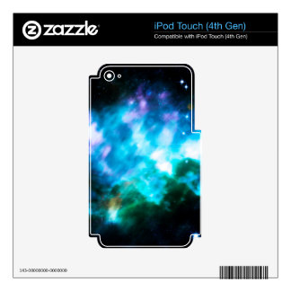 Abstract Starry Background 3 Decal For iPod Touch 4G