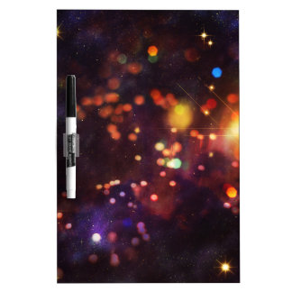 Abstract Starry Background 4 Dry Erase Board
