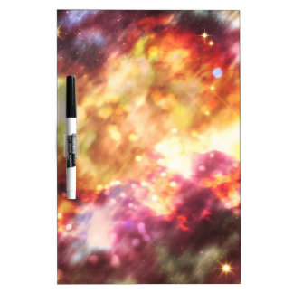 Abstract Starry Background 5 Dry-Erase Board
