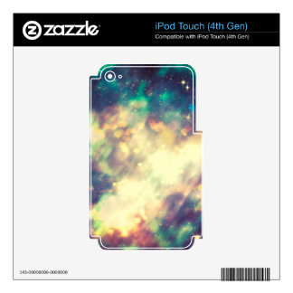 Abstract Starry Background iPod Touch 4G Decals