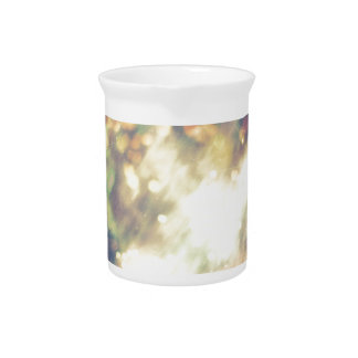 Abstract Starry Background Pitcher