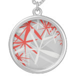 abstract starry necklace