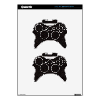 Abstract Starry Sky Art Pattern Xbox 360 Controller Decal