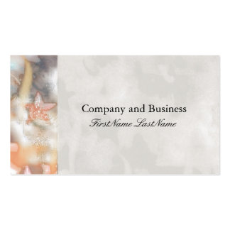 Abstract Stars Business Card