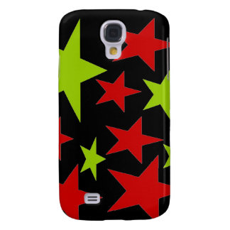 Abstract Stars i Galaxy S4 Cases