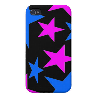 Abstract Stars i iPhone 4/4S Case