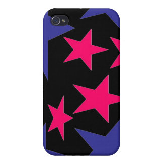 Abstract Stars i iPhone 4 Covers