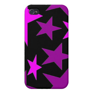 Abstract Stars i iPhone 4 Cases