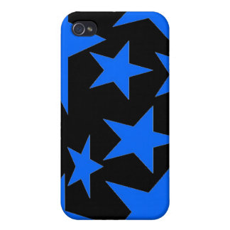 Abstract Stars i iPhone 4 Case
