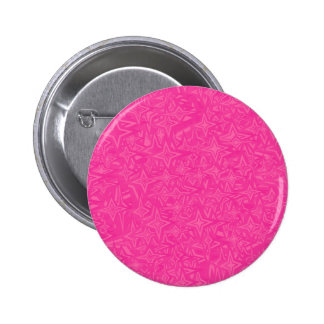 Abstract Stars in Hot Pink 2 Inch Round Button
