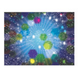 Abstract Stars Postcards